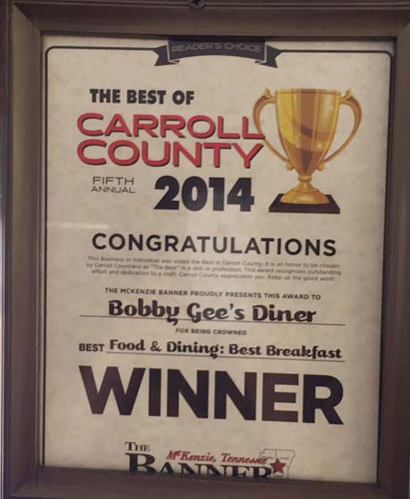 2014 Breakfast Winner